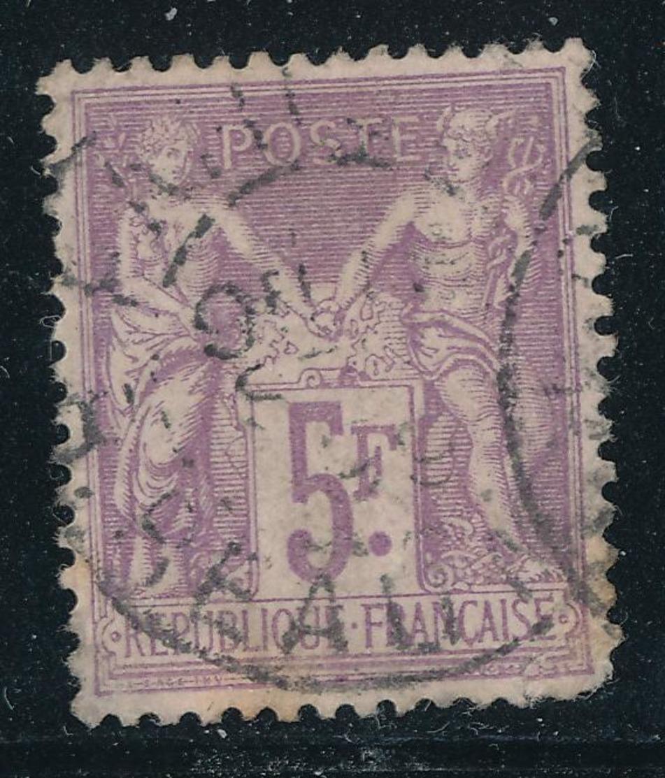 N°95  BEAU CACHET A DATE - 1876-1898 Sage (Type II)