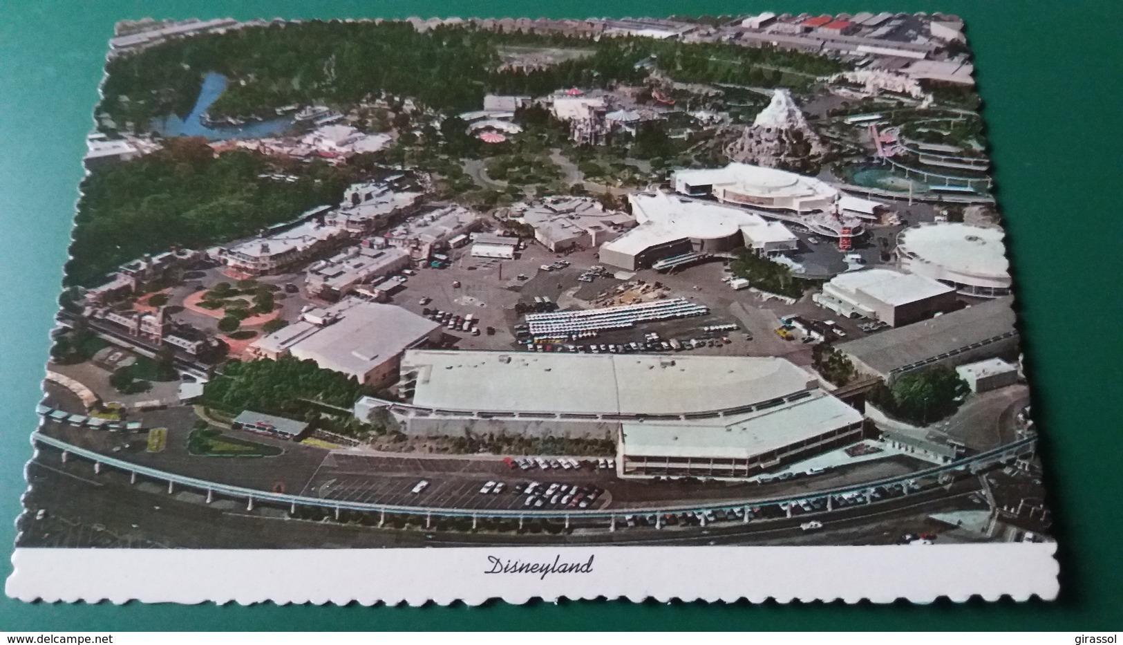 CPSM DISNEYLAND VUE AERIENNE ANAHEIM CALIFORNIA - Disneyland