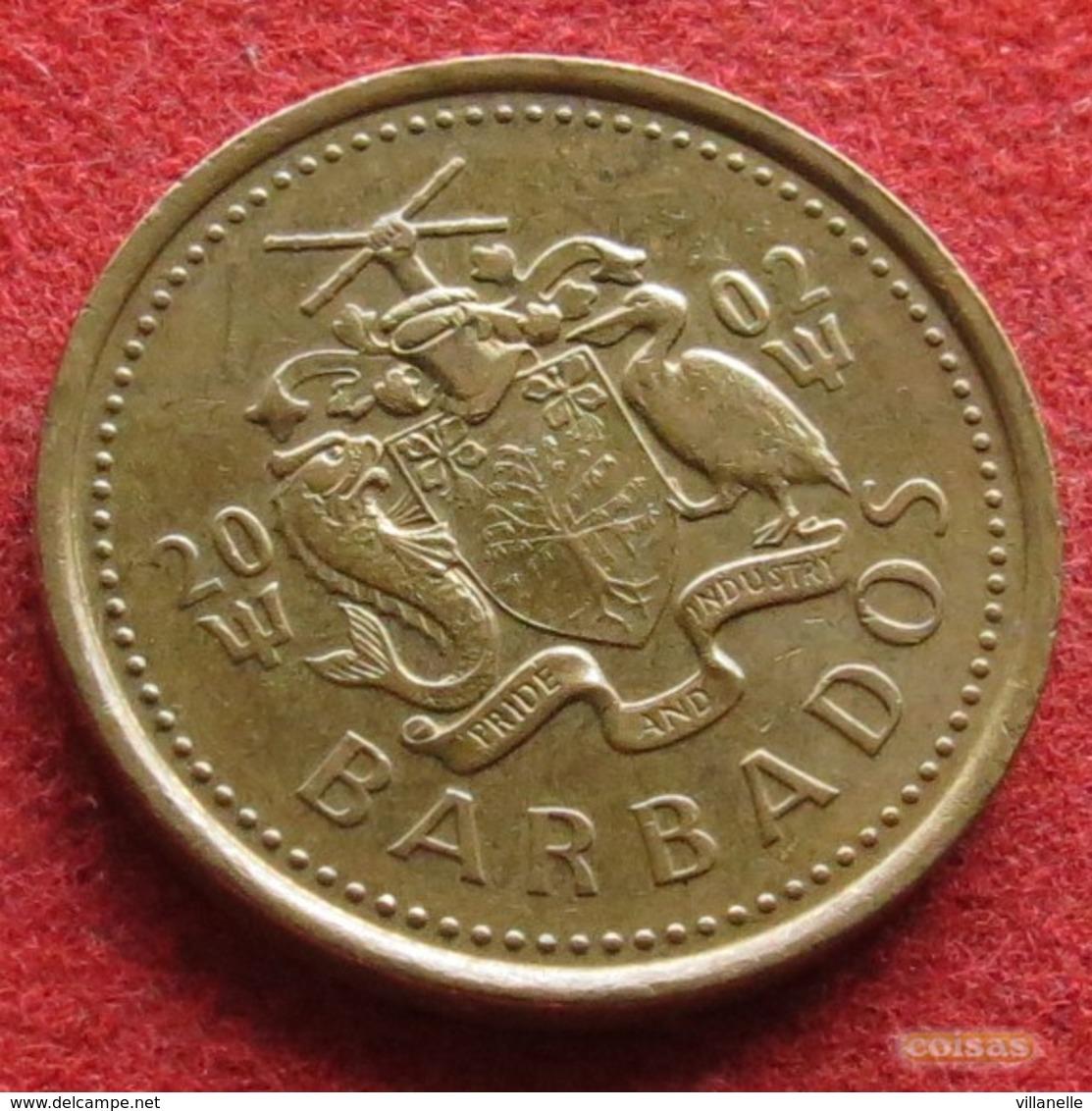 Barbados 5 Cents 2002 KM# 11 Barbade Barbades - Barbades
