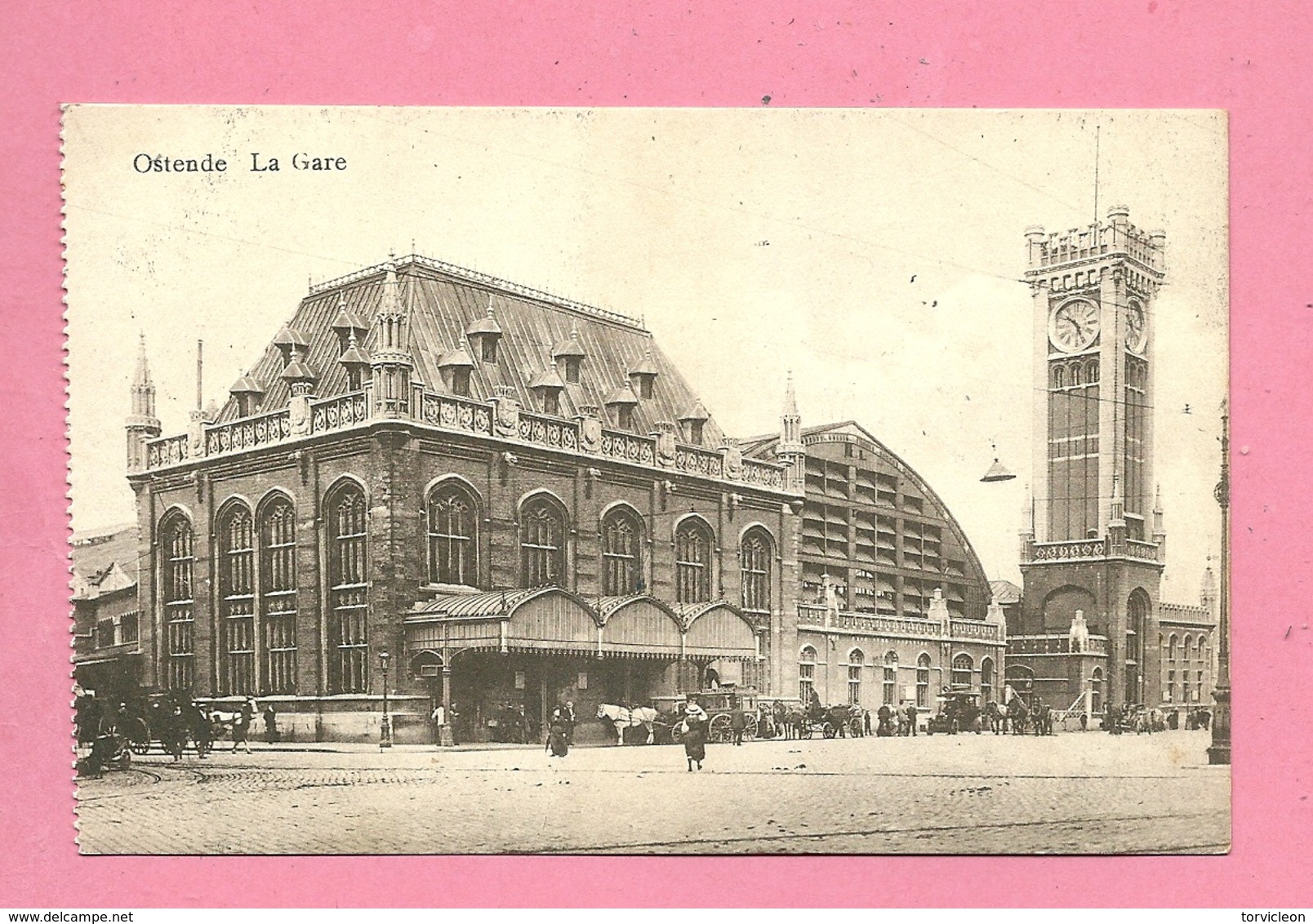 C.P.  Oostende = La  Gare - Oostende