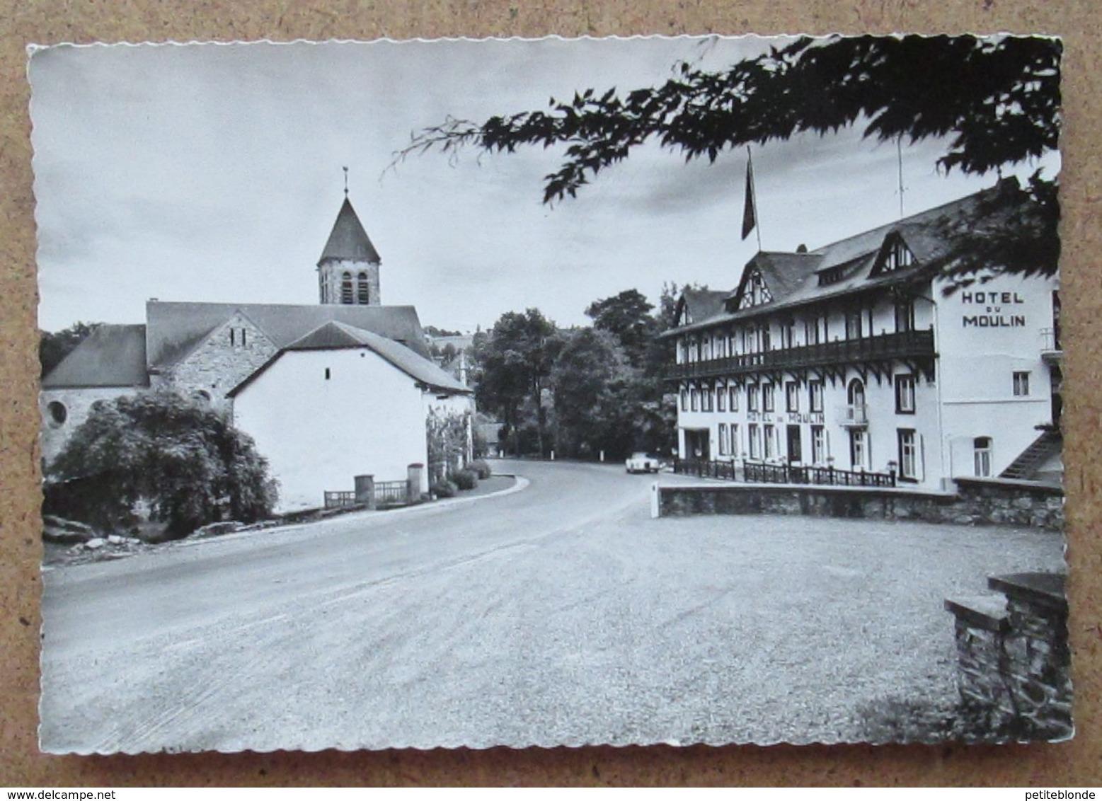 (K49) - Hotel Du Moulin - Ligneuville / Dir. Mme J. Goire-Binet - Malmedy
