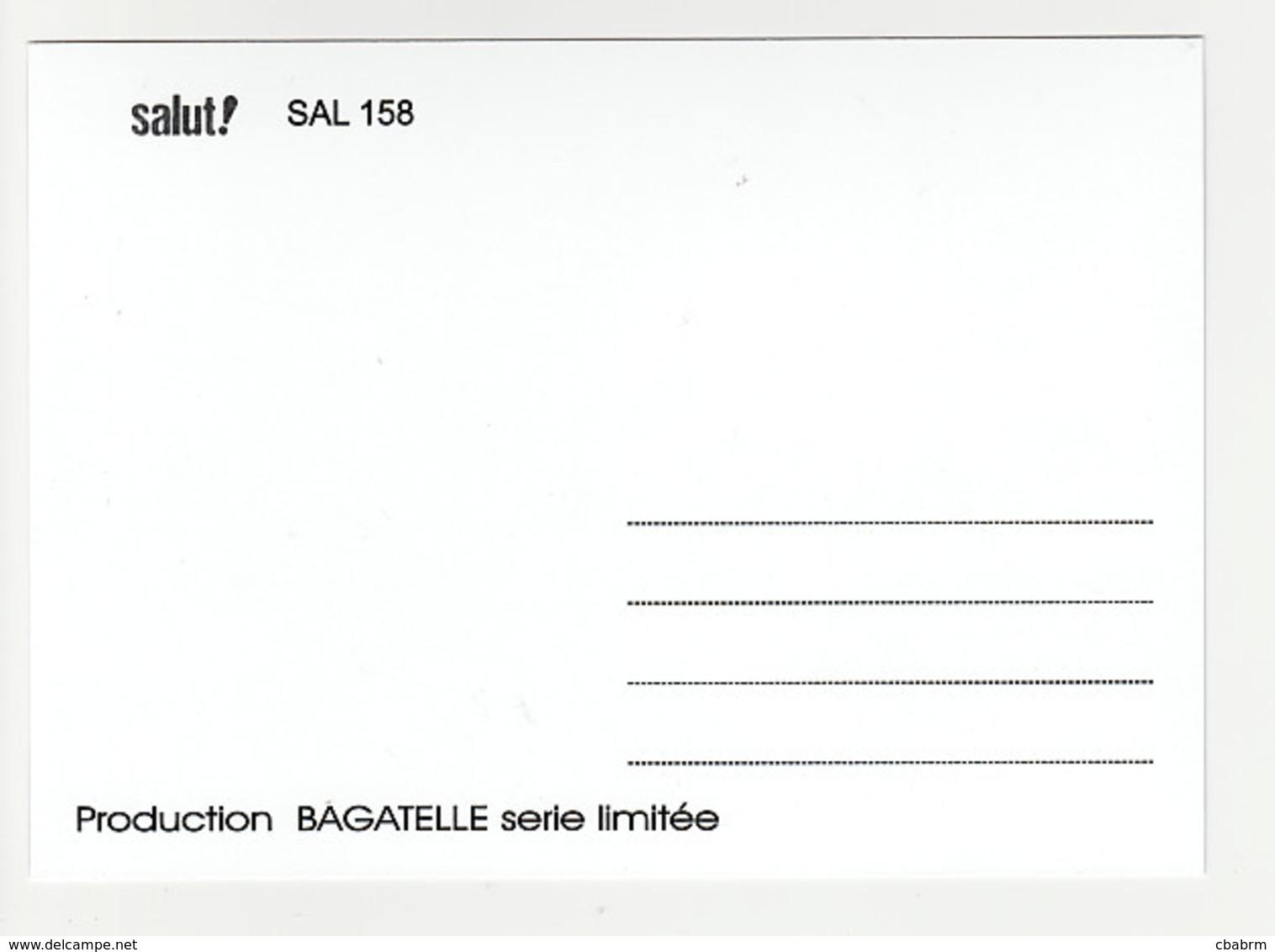 RENAUD Et JEAN JACQUES GOLDMAN Carte Postale N° SAL 158 JULIEN CLERC - Artisti