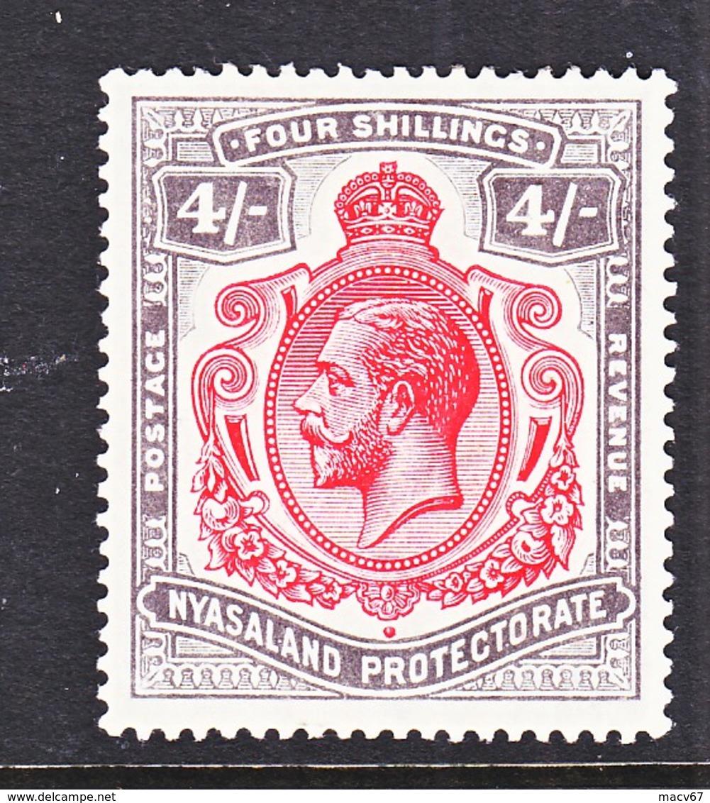 NYASSALAND  PROTECTORATE  21  *  GEORGE V - Nyasaland (1907-1953)