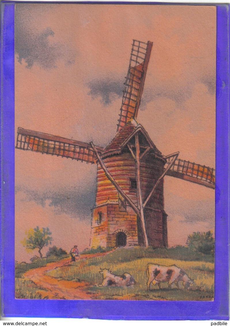 Carte Postale Illustrateur Barre Et Dayer Moulin  à Watten N° 2910L Très Beau Plan - Illustrateurs & Photographes