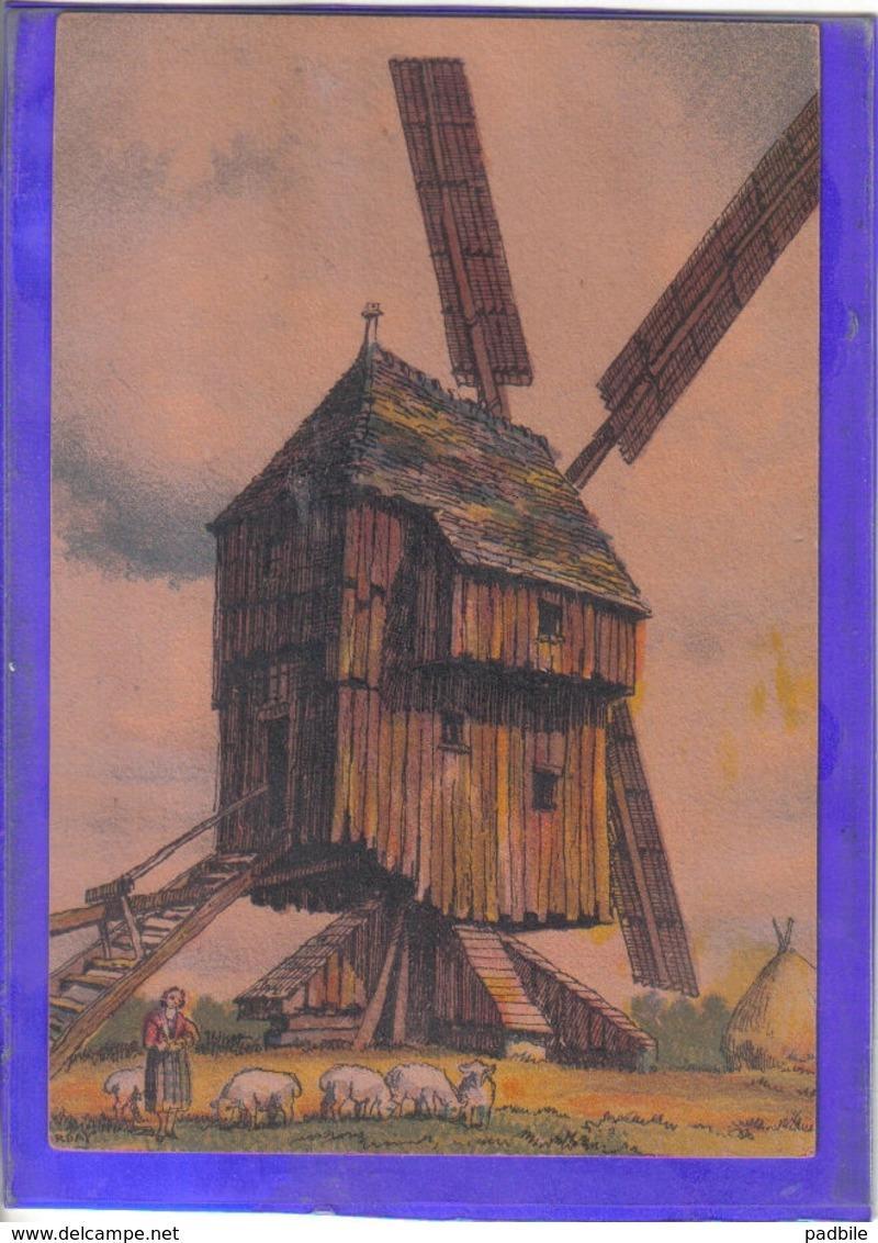 Carte Postale Illustrateur Barre Et Dayer Moulin  à Bagnolet N° 2912K Très Beau Plan - Illustrateurs & Photographes