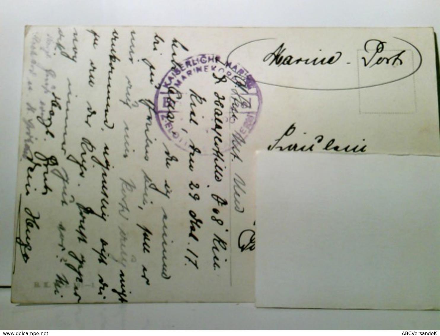 Aller Anfang Ist Schwer. Schöne, Seltene Künstler - AK Von Karl Feiertag, Gel. Als Marine - Post 1917. Mädel V - Hotels & Restaurants