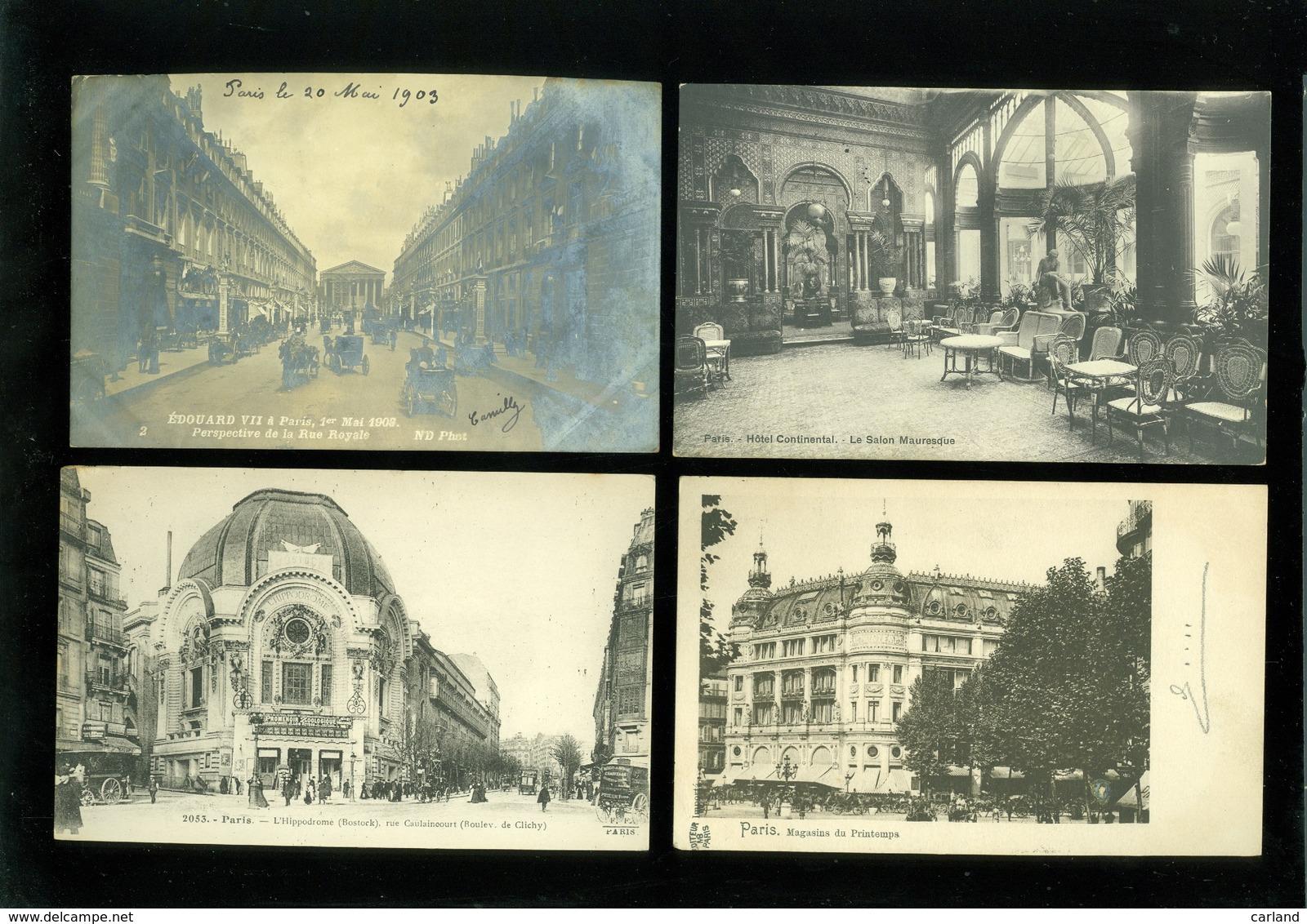 Beau Lot De 60 Cartes Postales De France  Paris   Mooi Lot Van 60 Postkaarten Van Frankrijk  Parijs  - 60 Scans - Cartes Postales