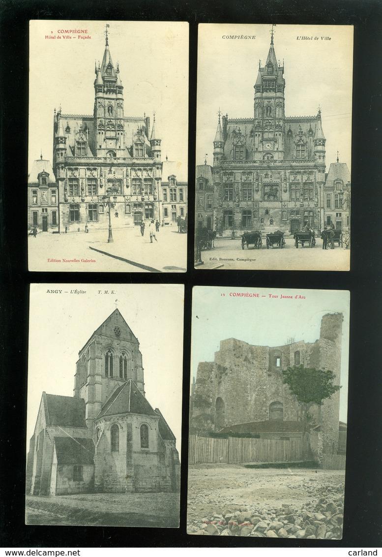 Beau Lot De 20 Cartes Postales De France  Oise   Mooi Lot Van 20 Postkaarten Van Frankrijk ( 60 )   - 20 Scans - 5 - 99 Cartes