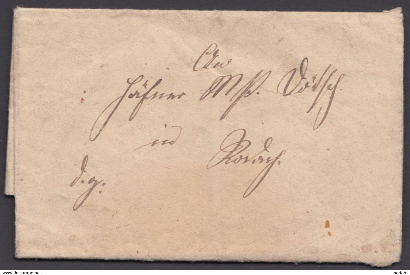 """Kleiner Dienstbrief, 1868 Nach """"Rodach"""" - Thurn Und Taxis"""