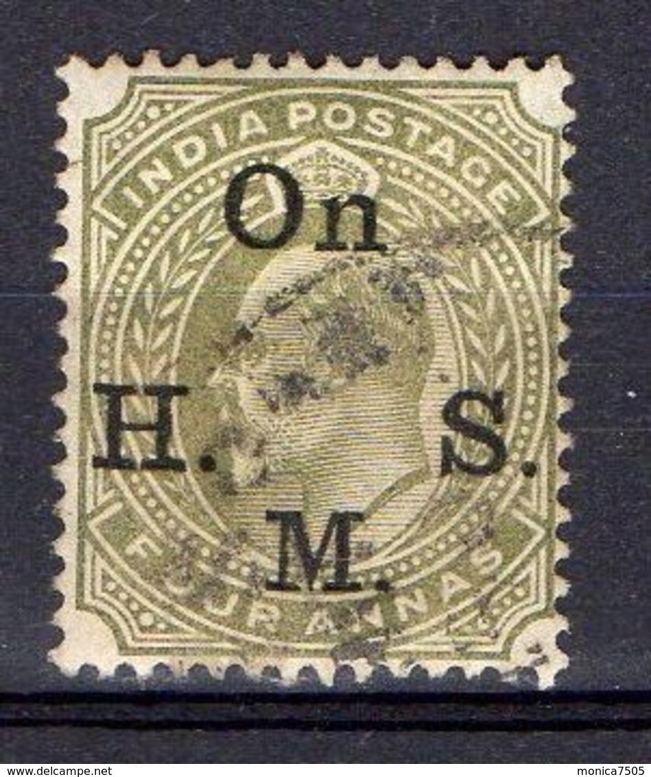 INDE ( SERVICE ) : Y&T  N° 43  TIMBRE  BIEN  OBLITERE . - India (...-1947)