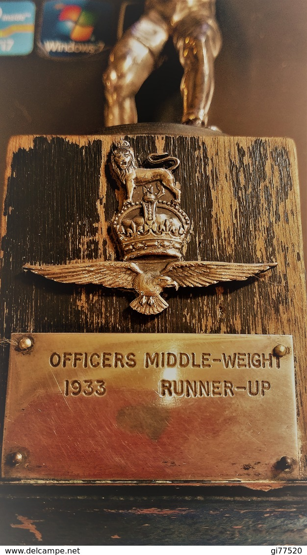 OFFICER MIDDLE WEIGHT RUNNER UP  - 1933 - Other