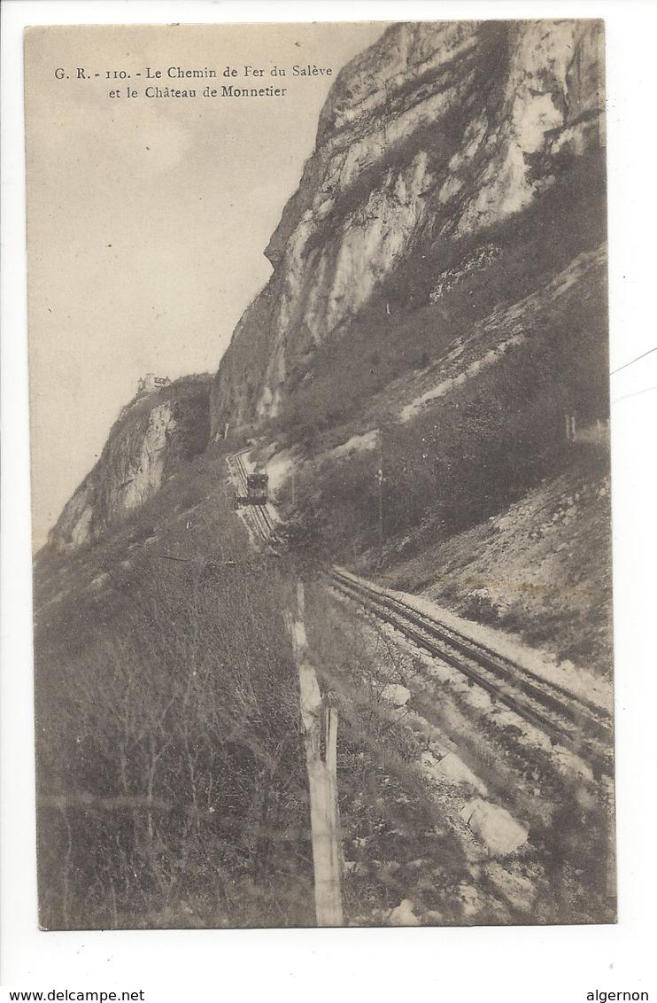 21412 - Le Chemin De Fer Du Salève Et Le Château De Monnetier - Autres Communes
