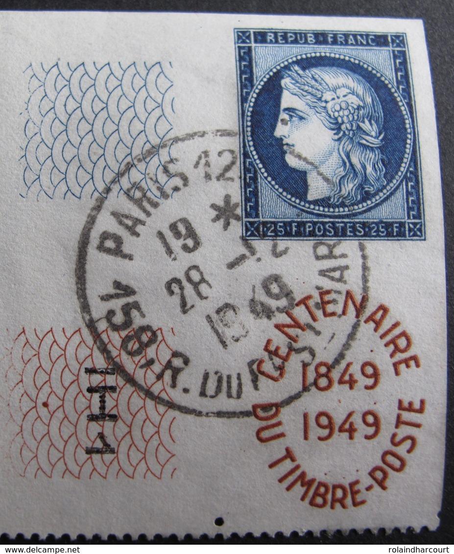 DF50500/174 - 1949 - N°831 ☉ - CàD : PARIS / 158 Rue Du Faubourg SAINT MARTIN Du 28 DECEMBRE 1949 - France