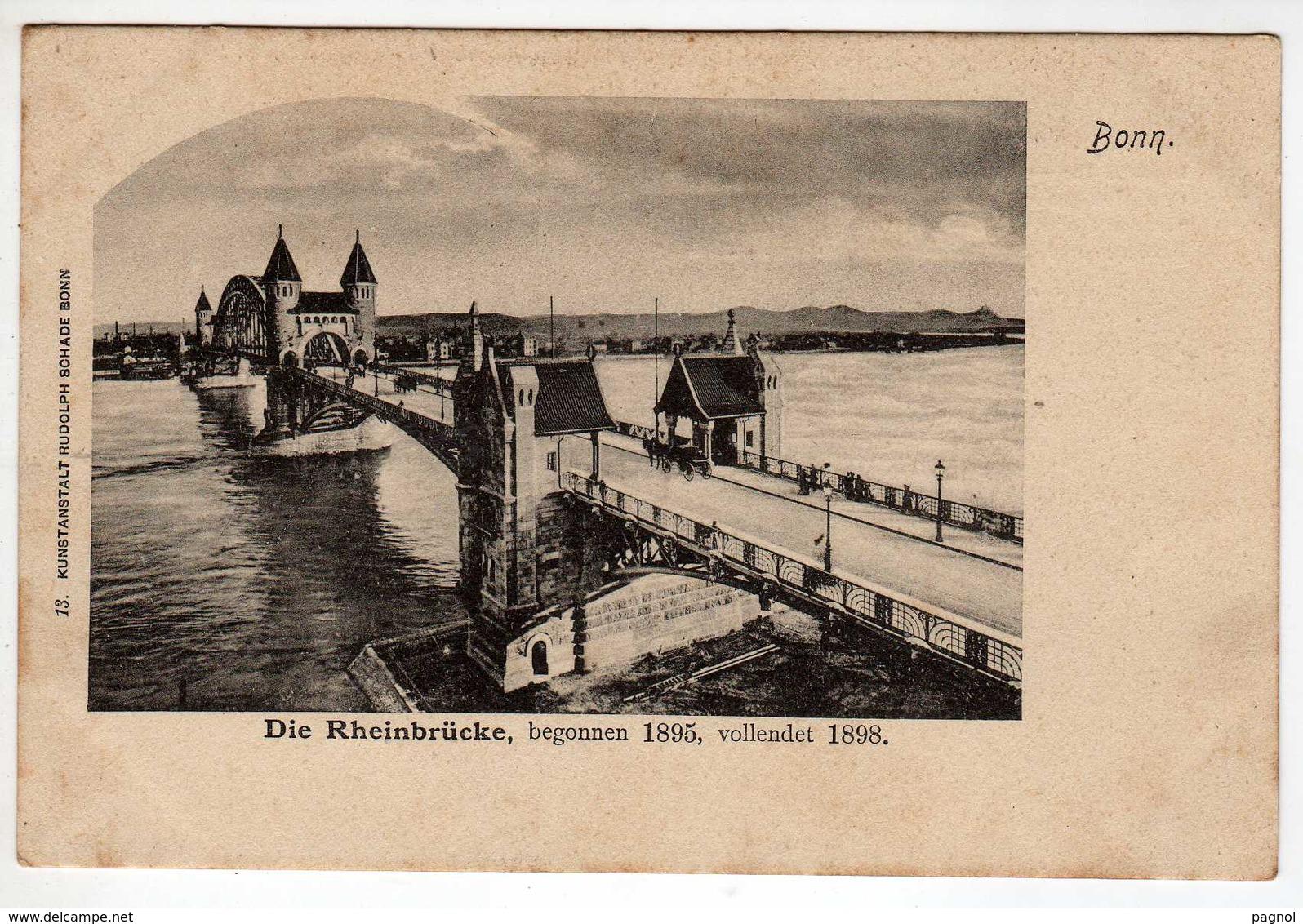 Allemagne : Bonn : Die Rheinbrücke - Bonn