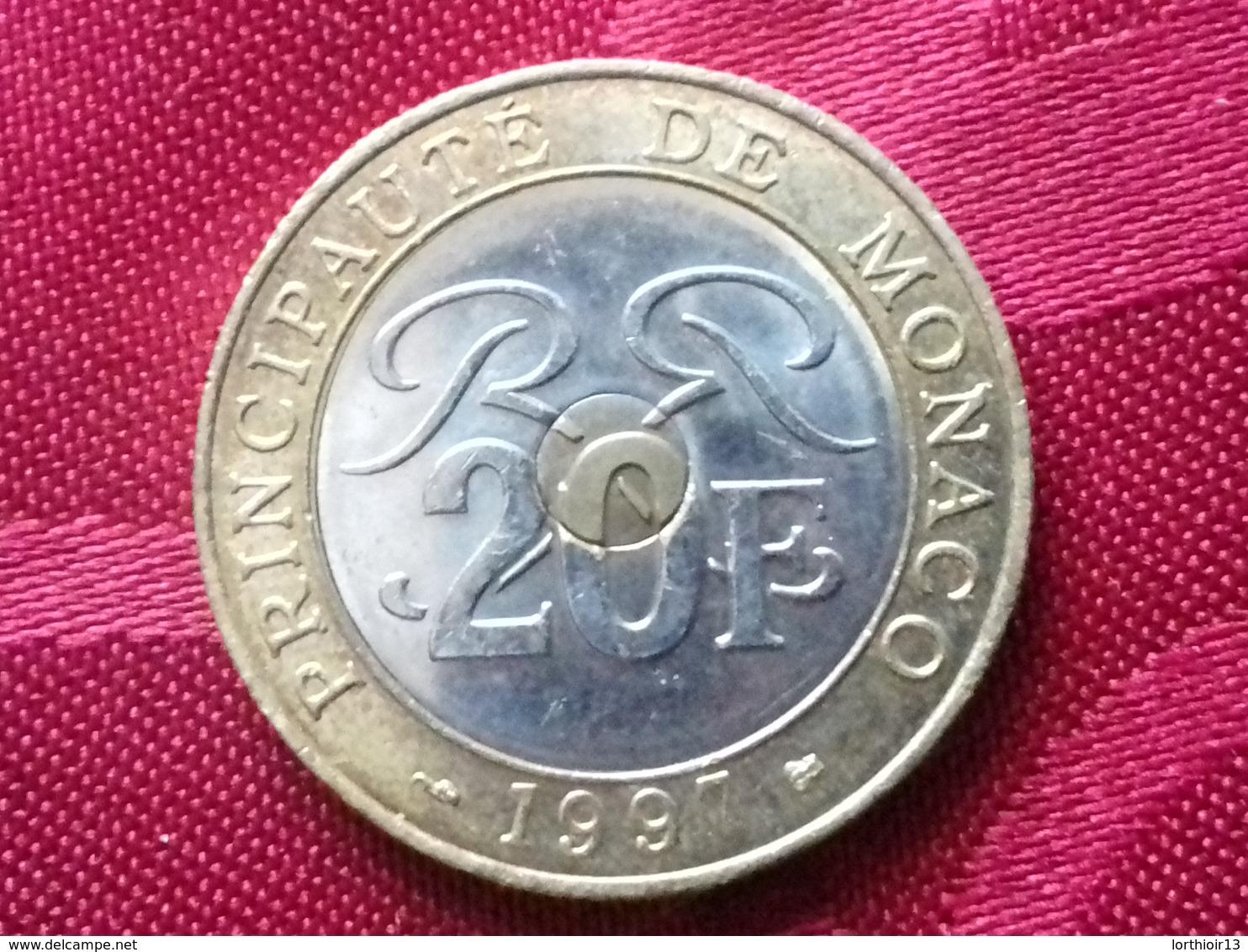 20 Francs 1997 Monaco - Monaco