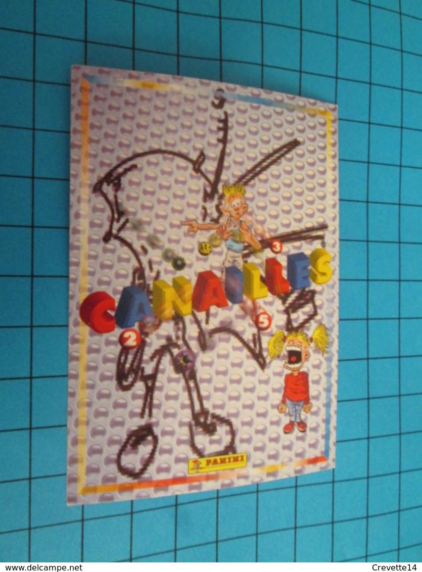 "1526-1550 : TRADING CARD 1991 JEU ""CANAILLES"" PANINI / KEVIN - BEAU GOSSE - Altri"