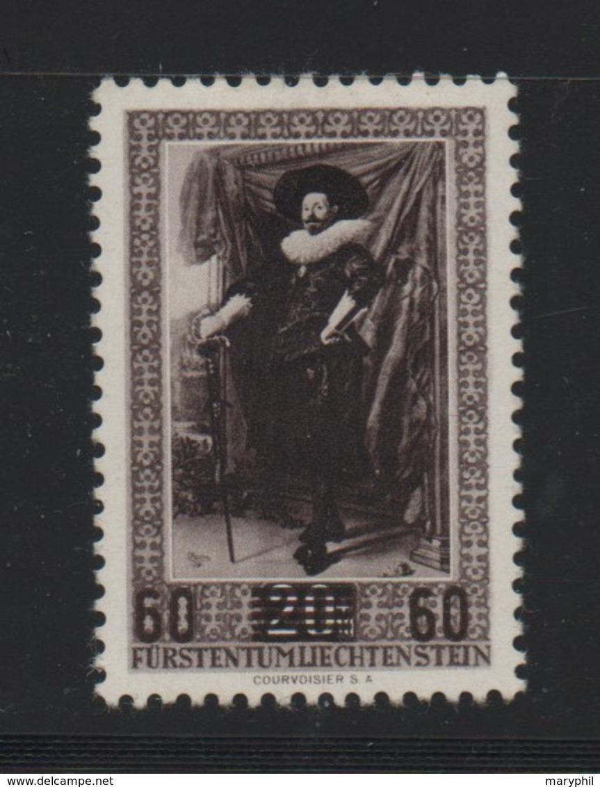 LIECHTENSTEIN N° 289 * (charnière) - Liechtenstein