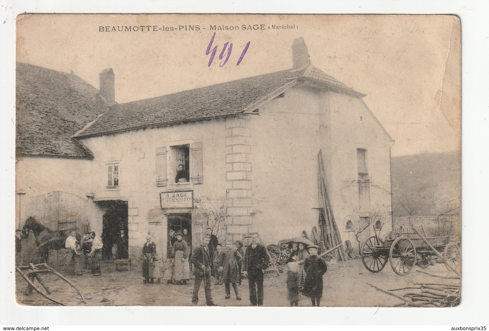 BEAUMOTTE LES PINS - MAISON SAGE - MARECHAL FERRANT - CAFE RESTAURANT - 70 - Other Municipalities