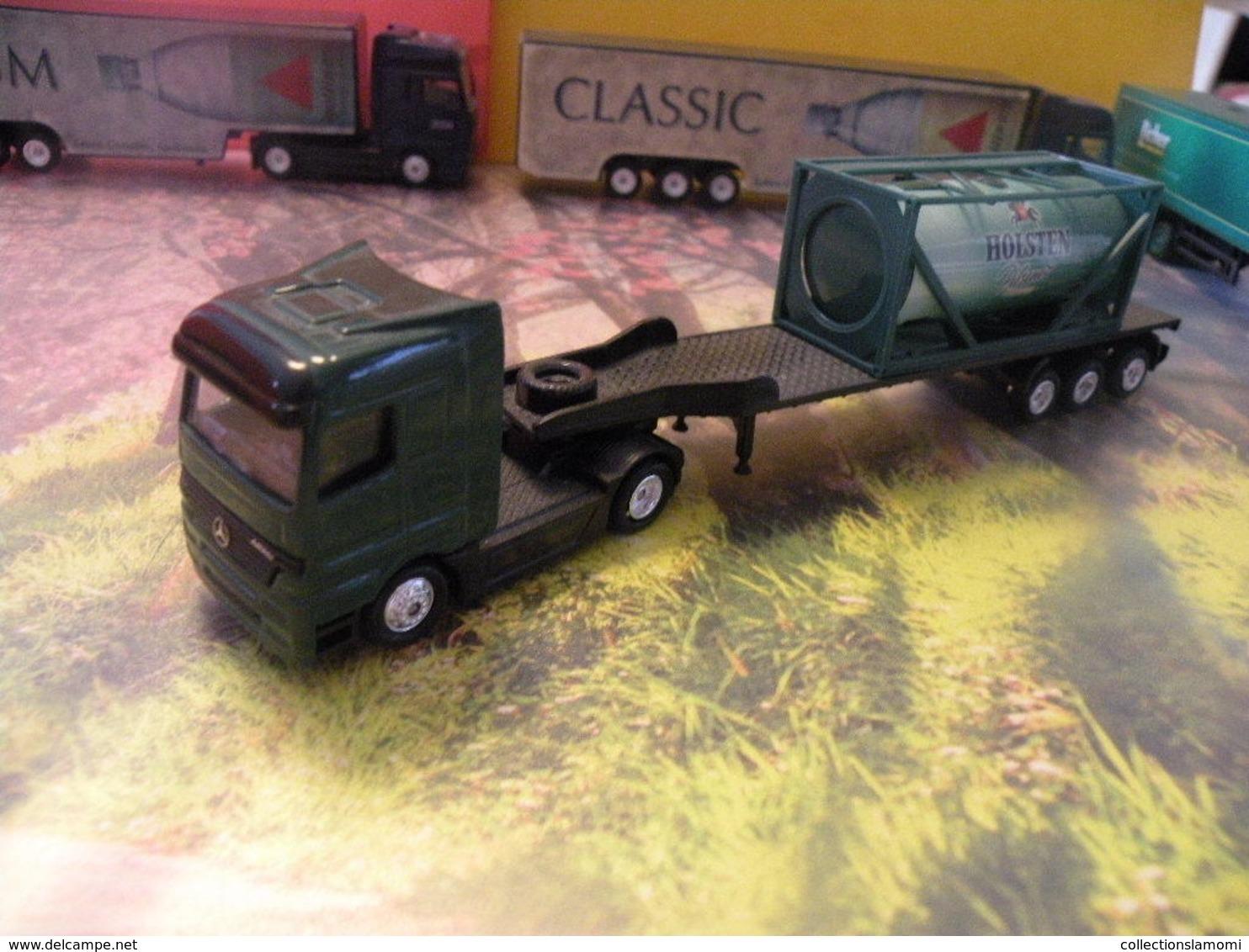 Camion Mercedes - Holsten Pilsenet - 1/87  Sans Boite - Echelle 1:87