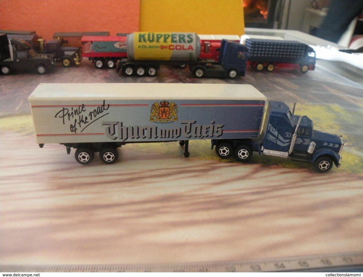 Camion Américain Mack - Thurn Und Taeis - 1/87 Sans Boite - Echelle 1:87