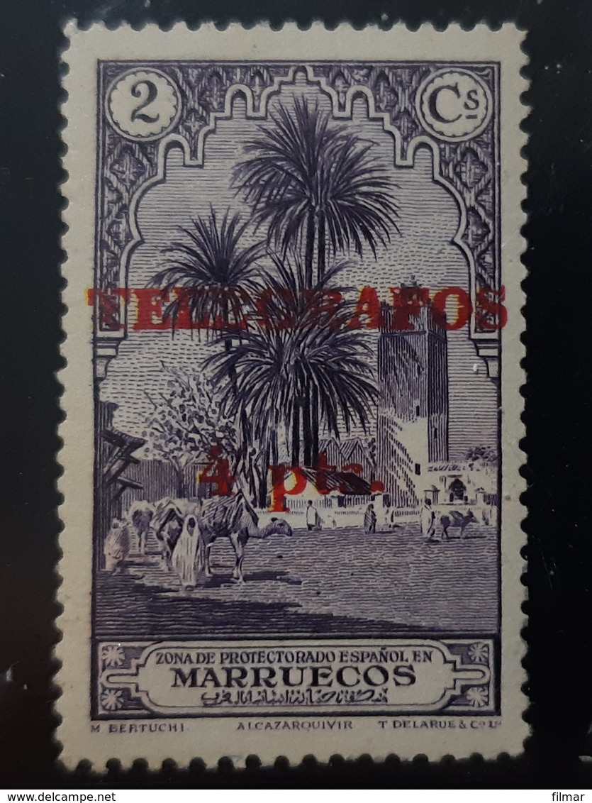 Marruecos  Telegrafos N40 - Marruecos Español