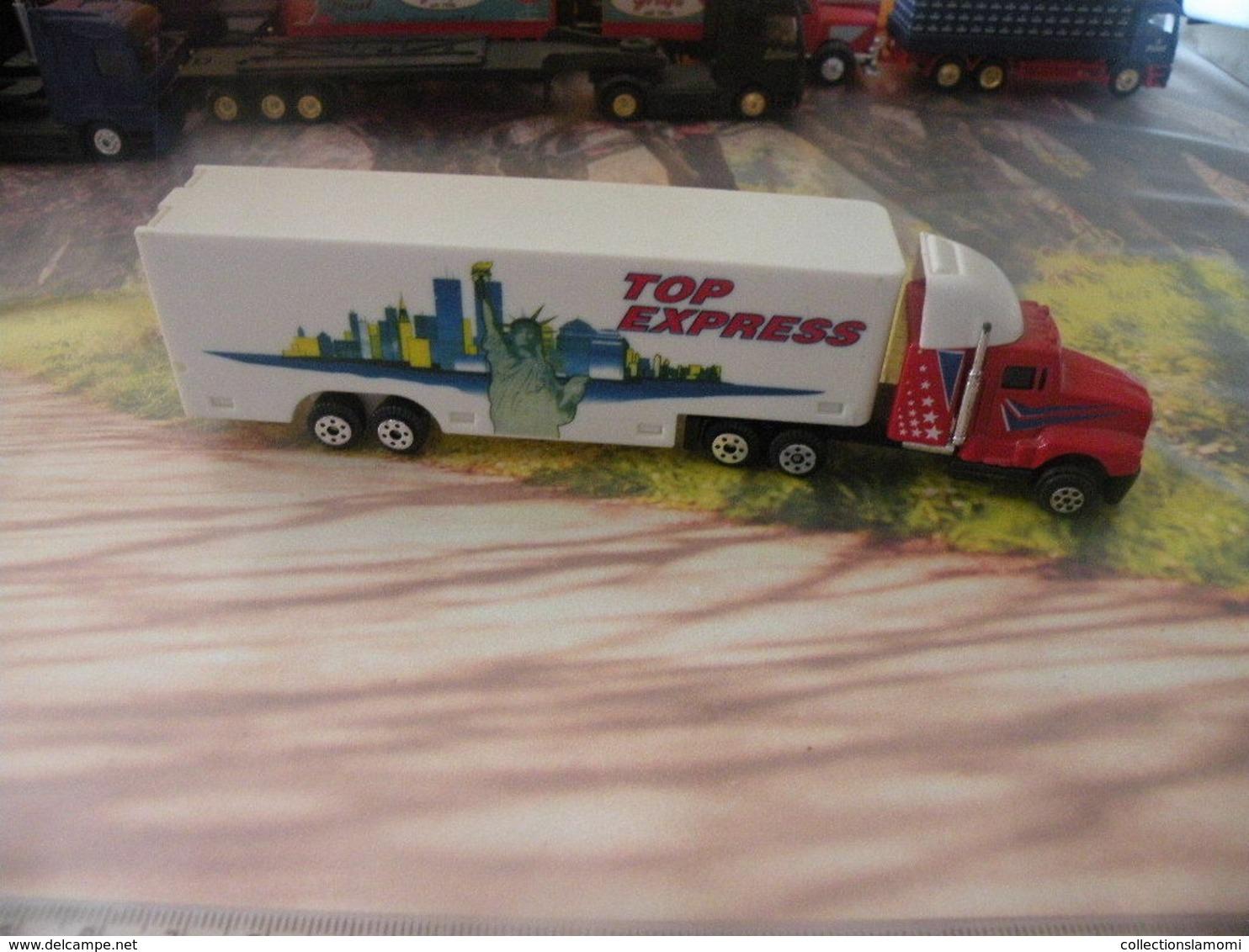 Camion Américain - Top Express  - 1/87  Sans Boite - Echelle 1:87