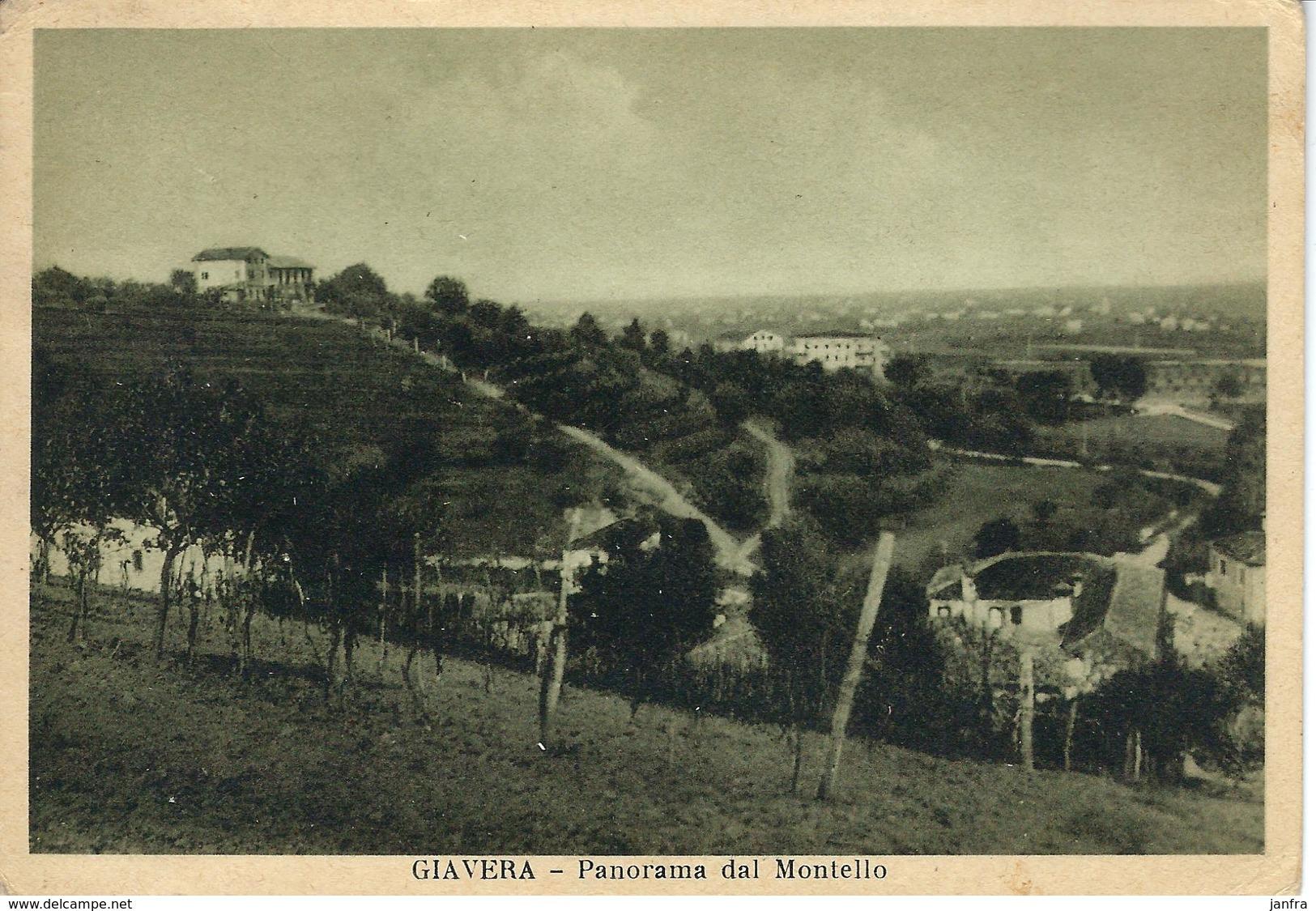 GIAVERA - PANORAMA DAL MONTELLO - Treviso