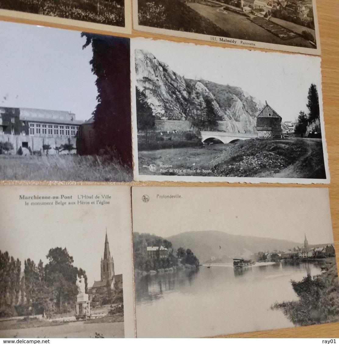 BELGIQUE - Lot De Plus De 100 Cartes Postales (voir Description Et Images) - Cartes Postales