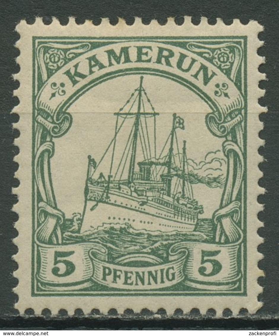 Kamerun 1900 Kaiseryacht Hohenzollern 8 Mit Falz - Kolonie: Kamerun