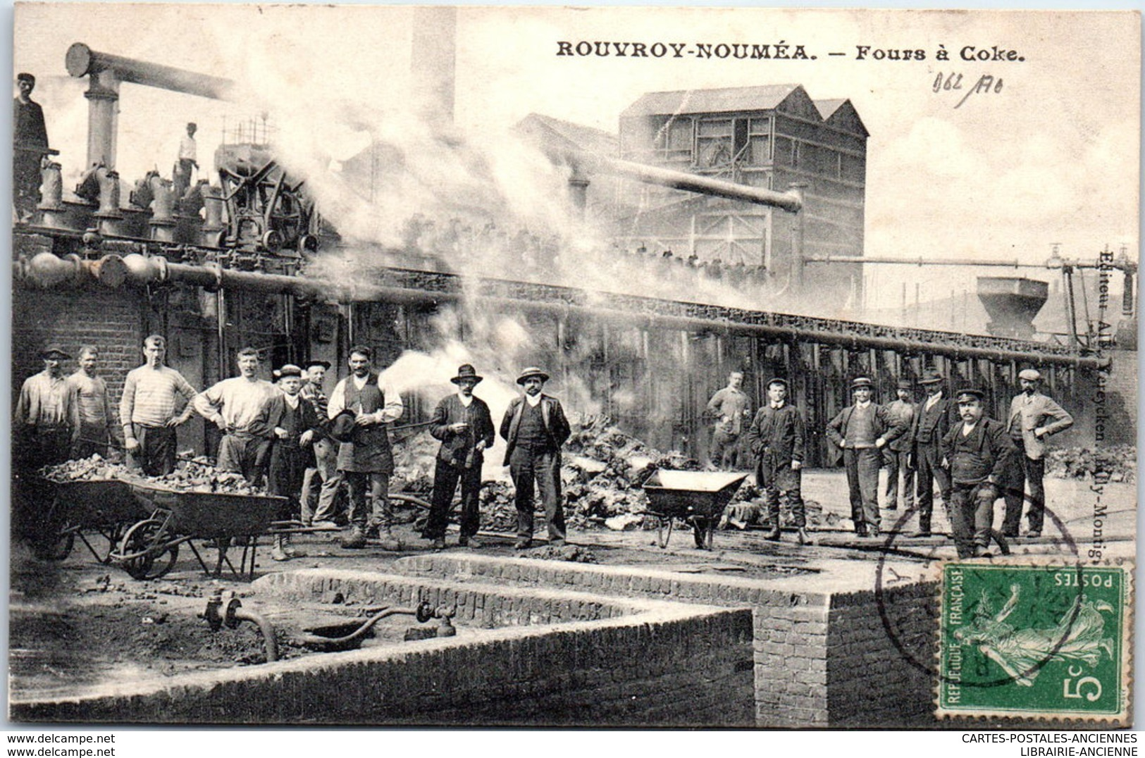 62 ROUVROY NOUMEA - Fours à Coke - Other Municipalities