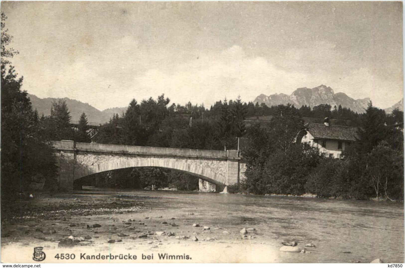 Kanderbrücke Bei Wimmis - BE Bern