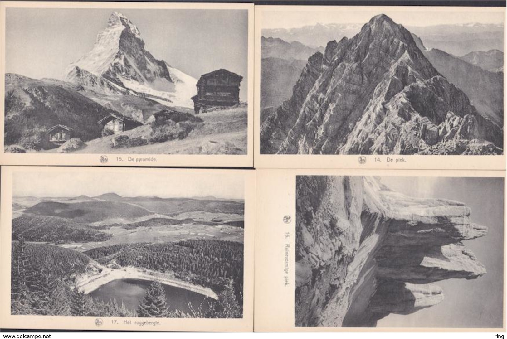 Iconografisch Materiaal : De Reliëfvormen - Mapje Met 29 Zichtkaarten - 5 - 99 Cartes