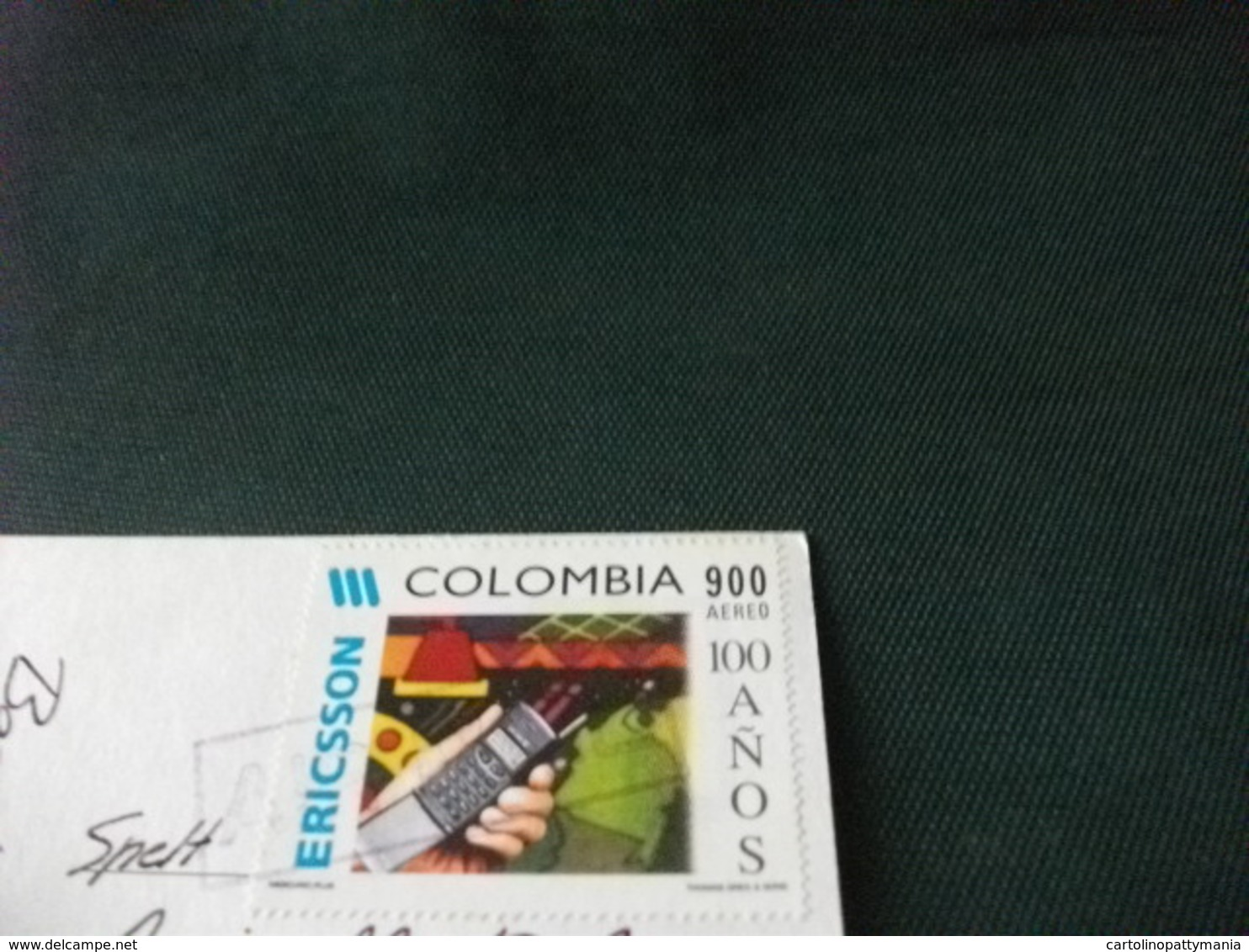 STORIA POSTALE  FRANCOBOLLO COLOMBIA BOGOTA' PANORAMA AEREO - Colombia