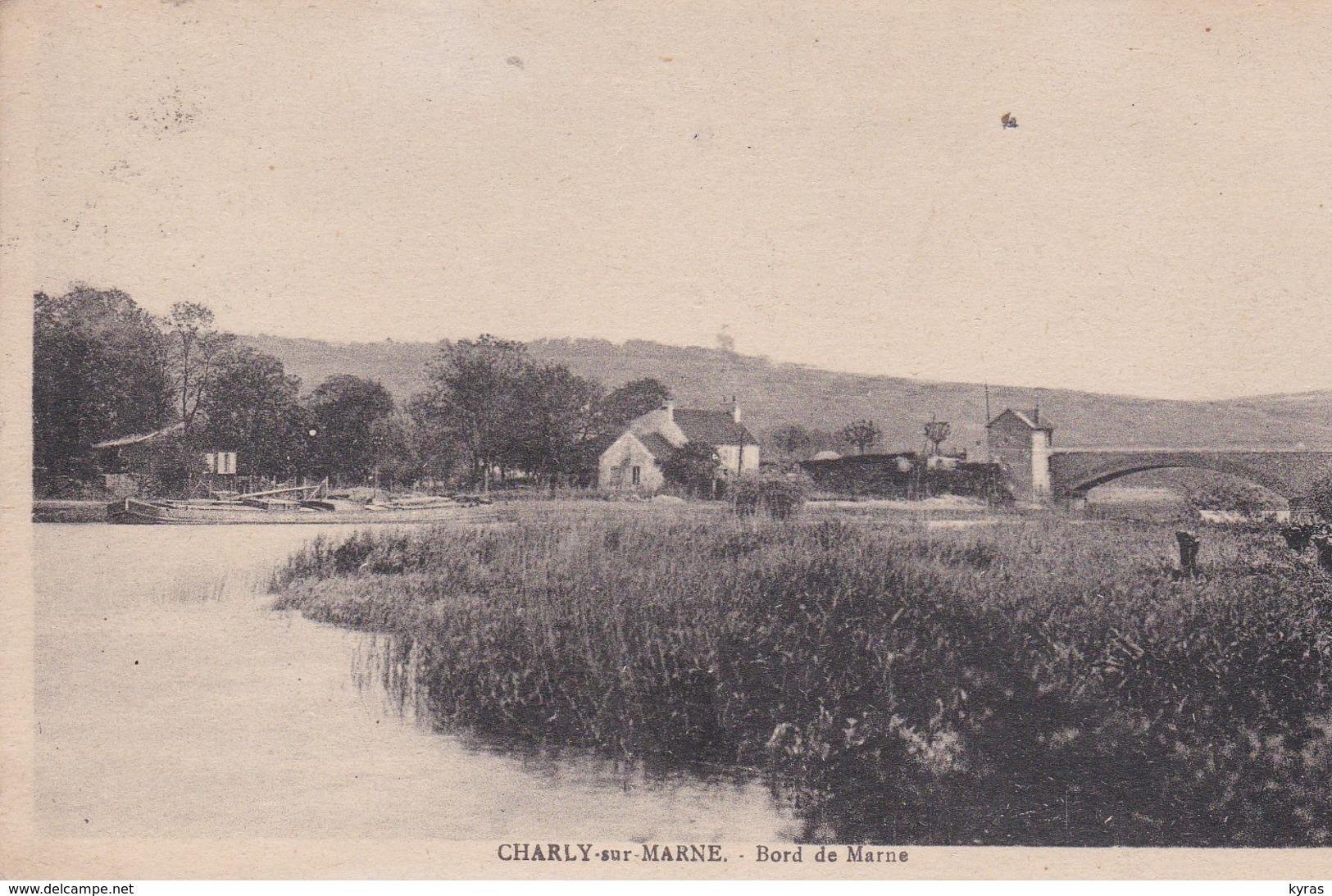 CHARLY SUR MARNE  (02)  Bord De Marne - France