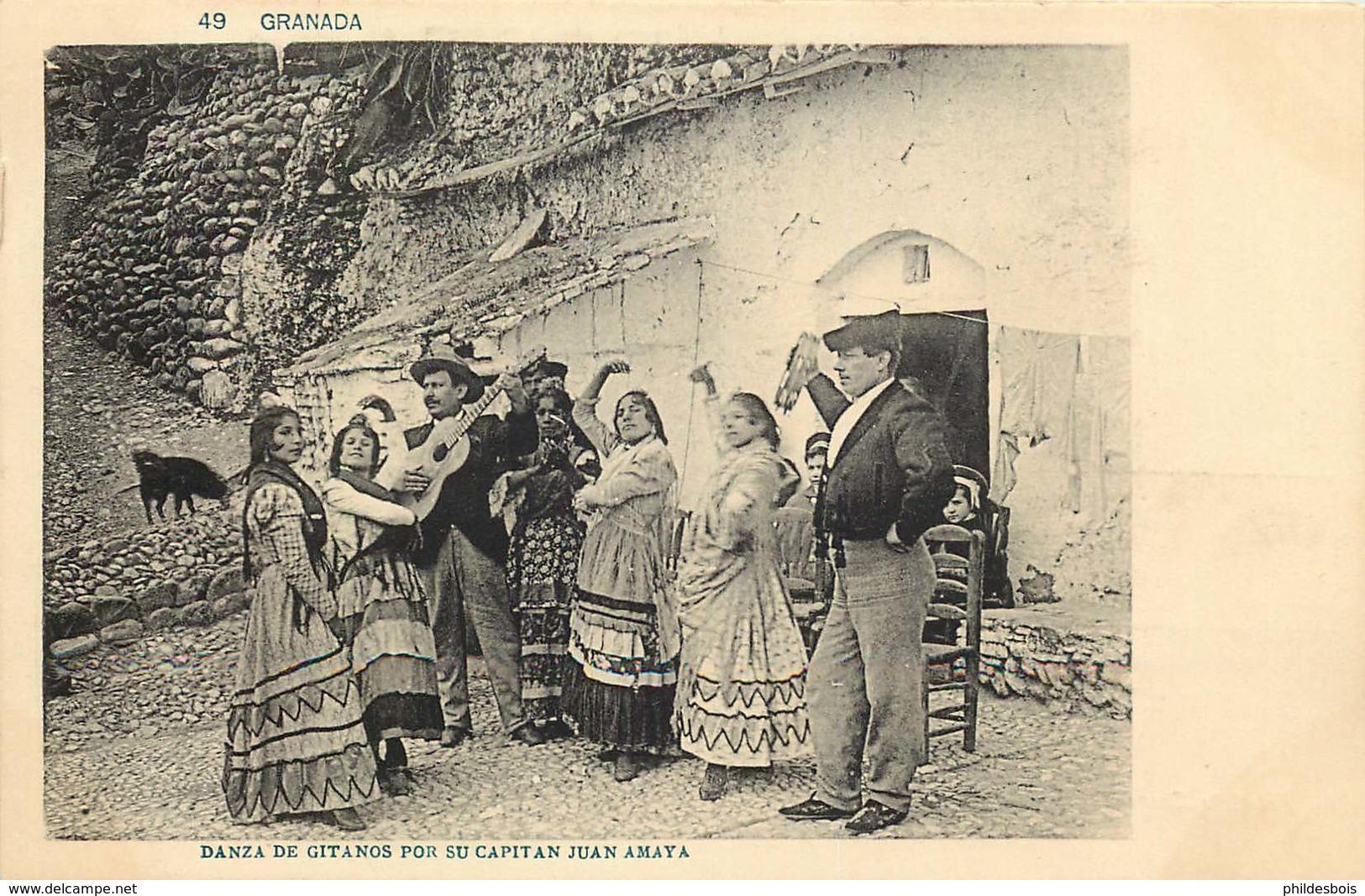 ESPAGNE  DANZA DE GITANOS POR SU CAPITAN JUAN AMAYA - Espagne