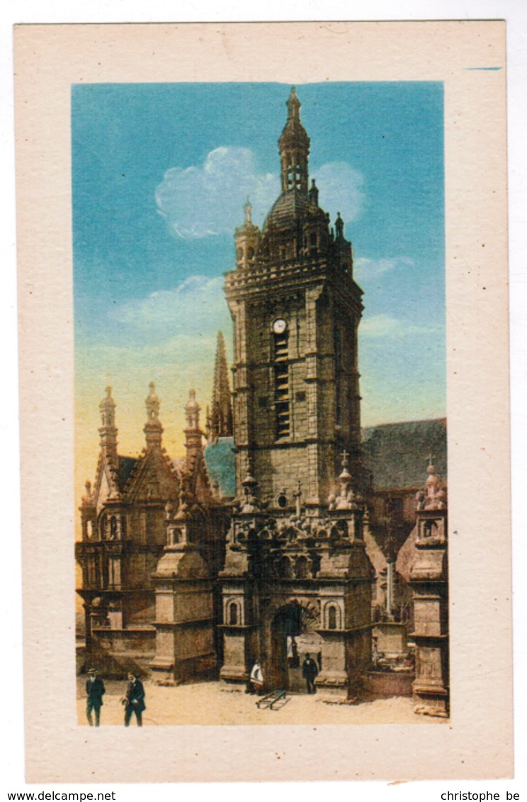Saint Thégonnec, Le Clocher Et L'Arc De Triomphe (pk55179) - France