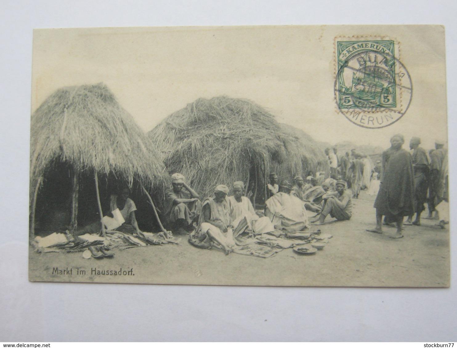 KAMERUN  , Ansichtskarte Aus  DUALA Nach Mexiko , 1910 , Seltenes Zielland - Kolonie: Kamerun