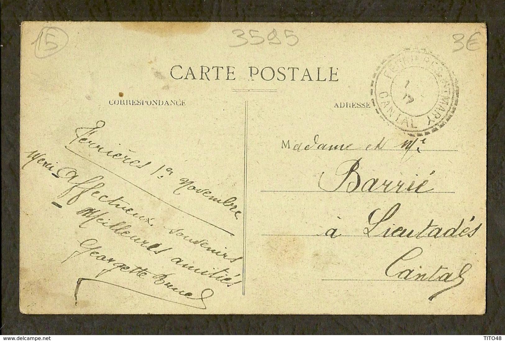 CP-CANTAL - L'Ancienne Fabrication Du Fromage - Non Classés