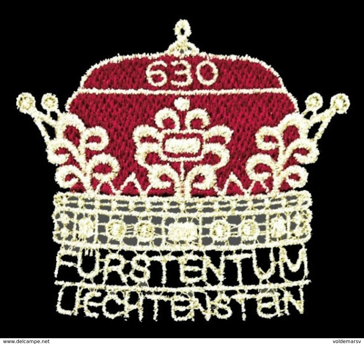 Liechtenstein 2019 Mih. 1932 300 Years Of Liechtenstein (embroidered Stamp) MNH ** - Liechtenstein