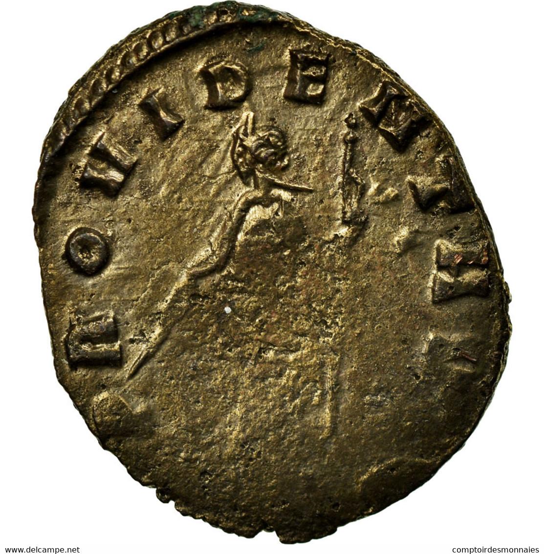 Monnaie, Claude II Le Gothique, Antoninien, TB, Billon, RIC:187 - 5. L'Anarchie Militaire (235 à 284)