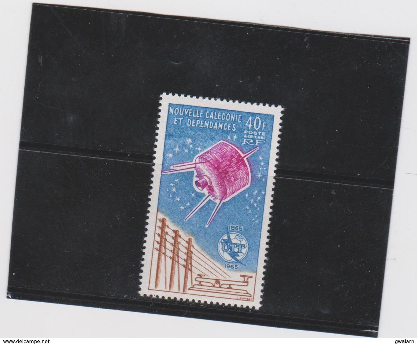 NOUVELLE CALEDONIE 1 T Poste Aérienne Neuf Xx  N°YT PA 80 - 1965 - Poste Aérienne
