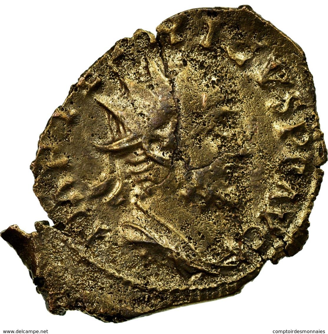 Monnaie, Tetricus I, Antoninien, 271-272, Trèves Ou Cologne, B+, Billon - 5. L'Anarchie Militaire (235 à 284)