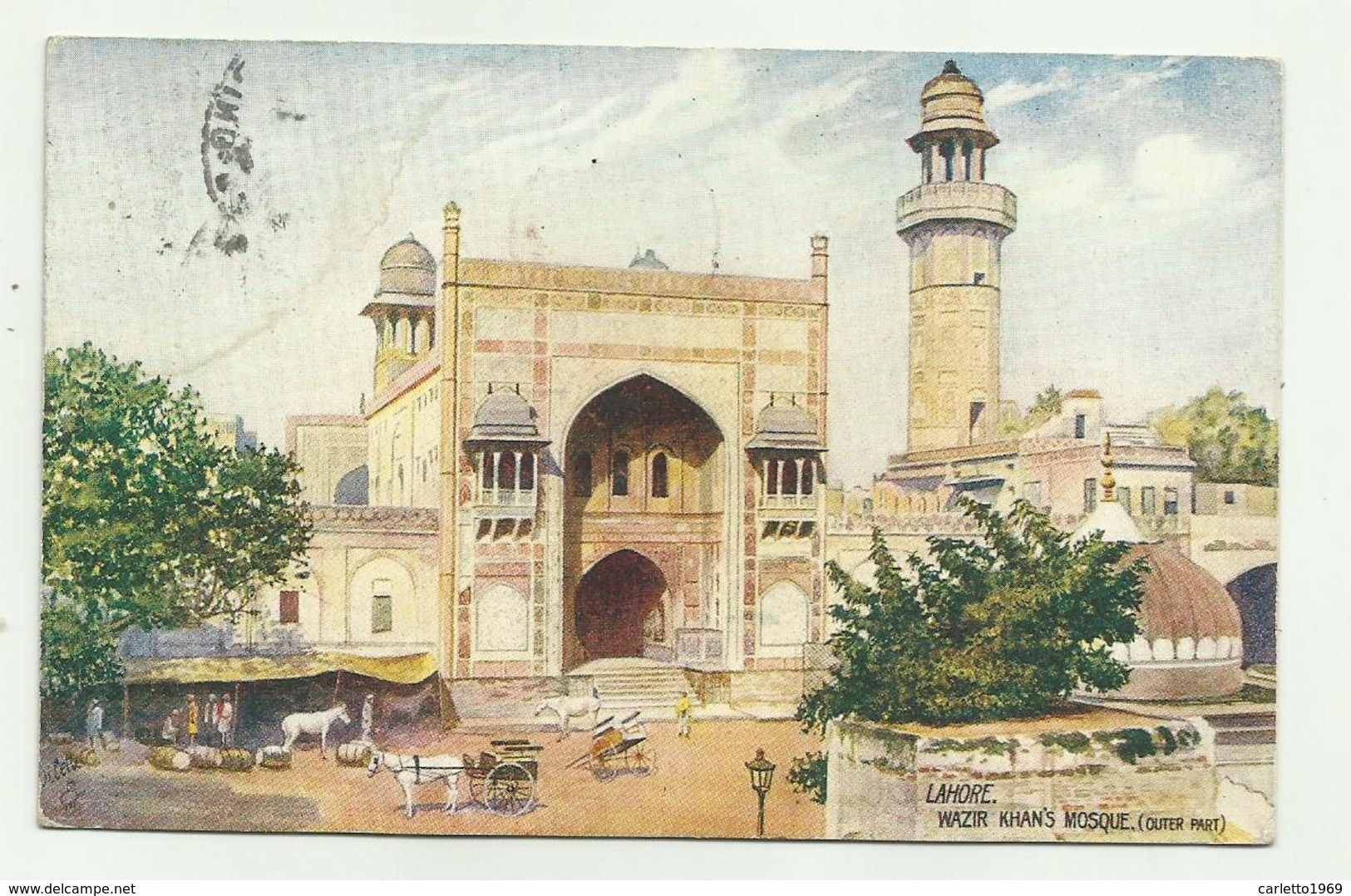 LAHORE - WAZIR KHAN'S MOSQUE   VIAGGIATA FP - Pakistan