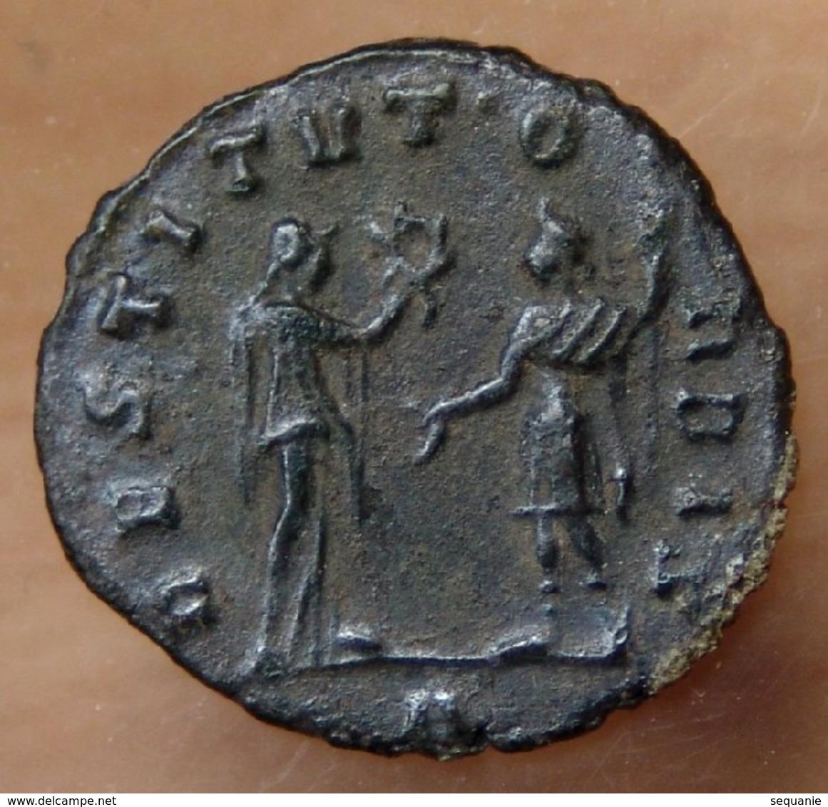 AURELIEN Antoninien + 272 Antioche RESTITUTOR - 5. L'Anarchie Militaire (235 à 284)