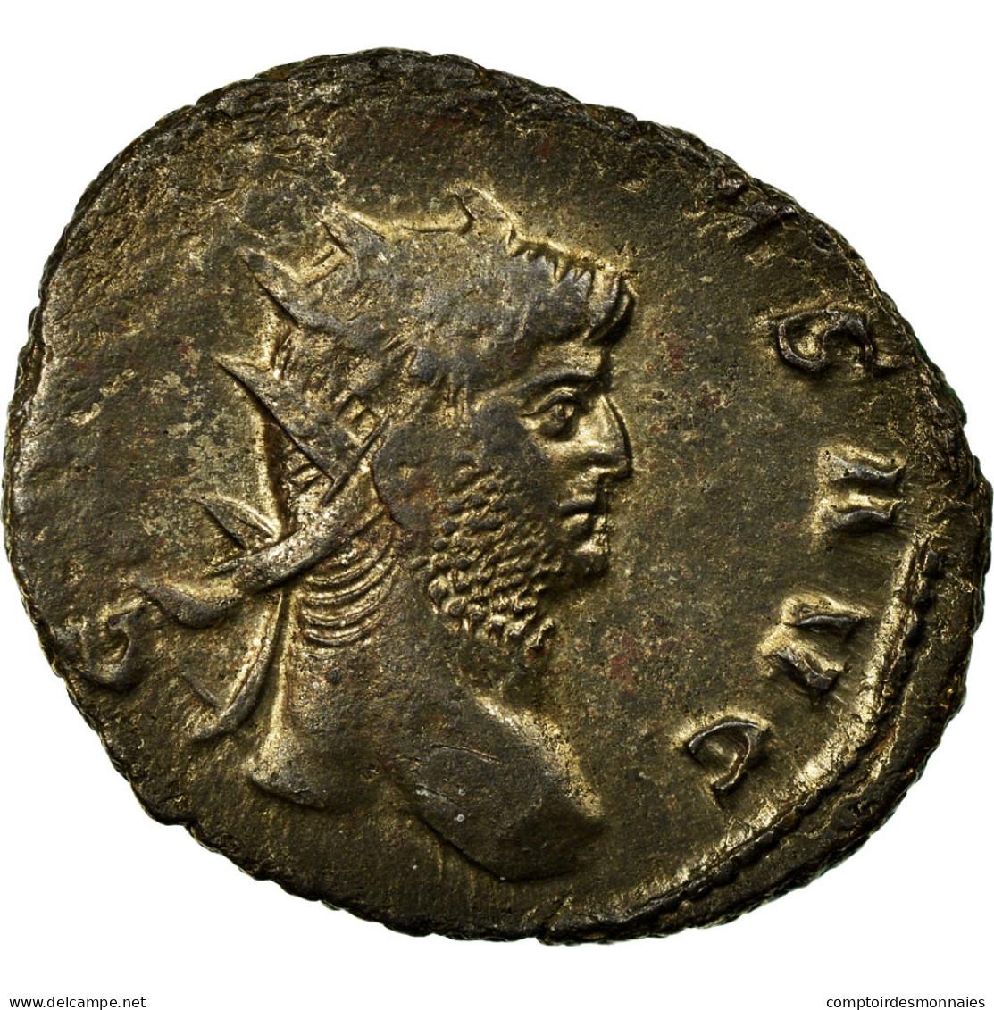 Monnaie, Gallien, Antoninien, Milan, Rare, TB, Billon - 5. L'Anarchie Militaire (235 à 284)