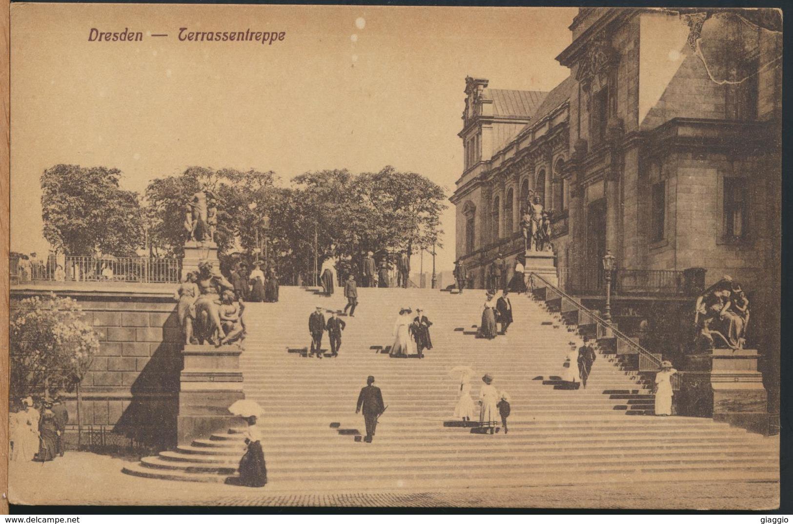 °°° 13156 - GERMANY - TERRASSENTREPPE °°° - Dresden