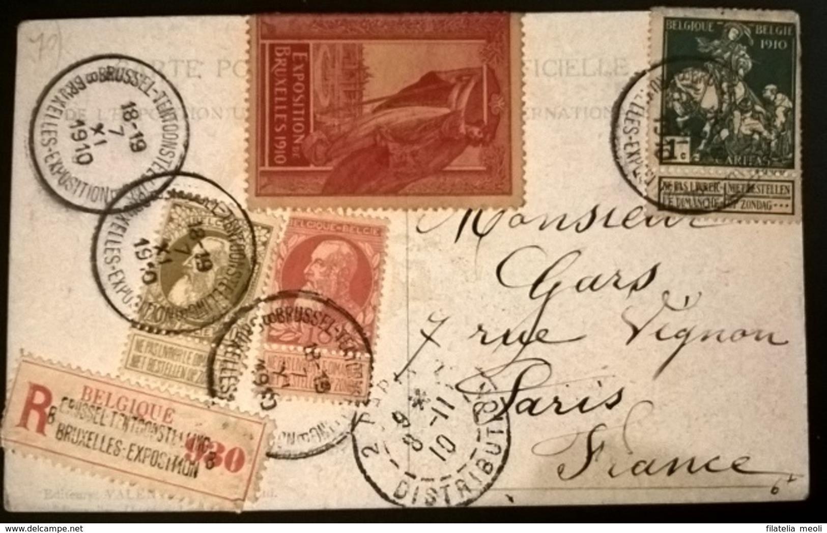 ESPOSIZIONE BRUXELLES 1910 - Esposizioni