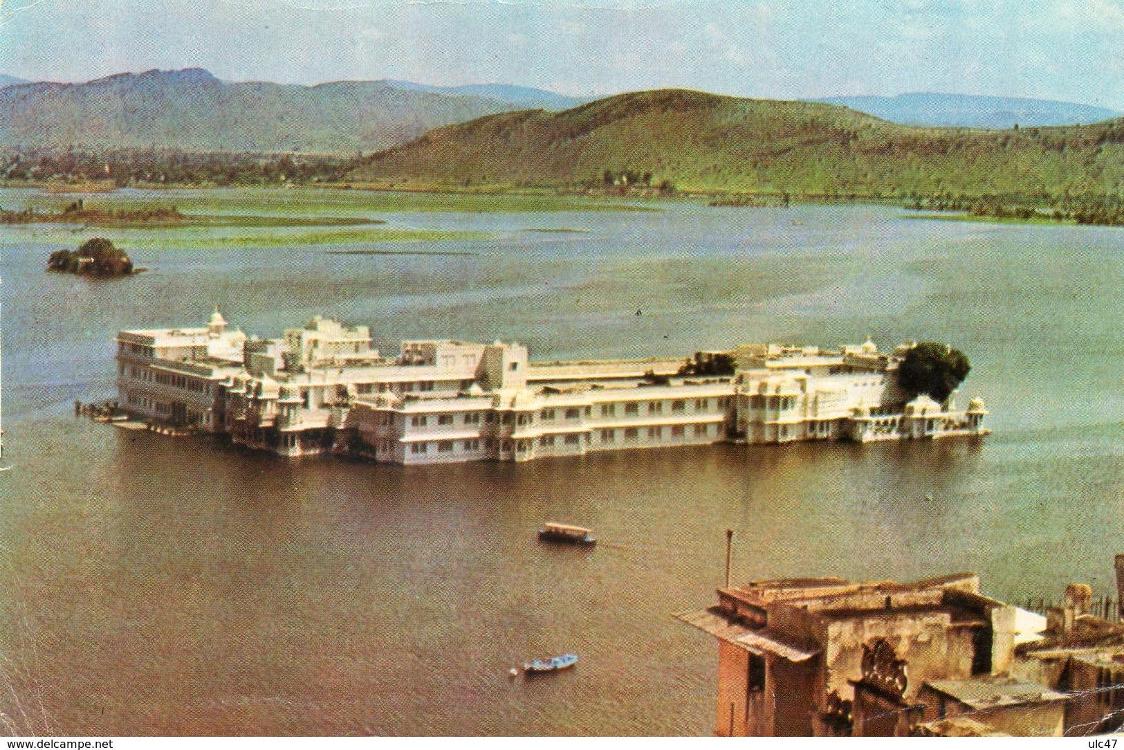 - ASIE - RAJASTHAN - LAKE PALACE - Scan Verso - - Cartes Postales