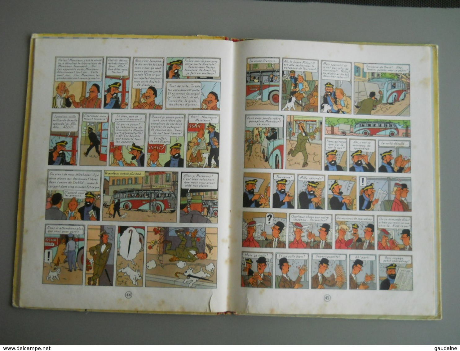 TINTIN – L'AFFAIRE TOURNESOL – B35 – Edition 1964 - Tintin