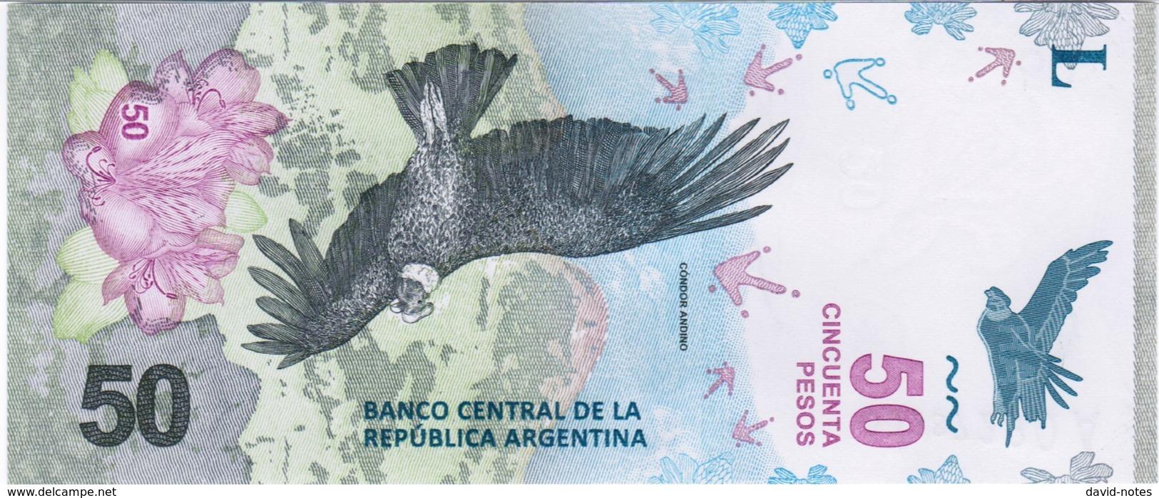 Argentina - Pick New - 50 Pesos 2018 - Unc - Argentine